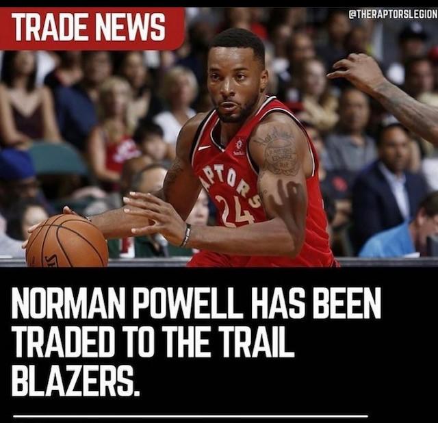 Raptors trade