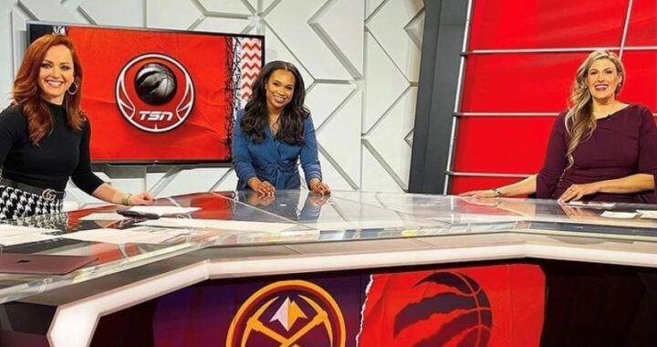 Raptors All Women Broadcasters did great on Wednesday nights winner.