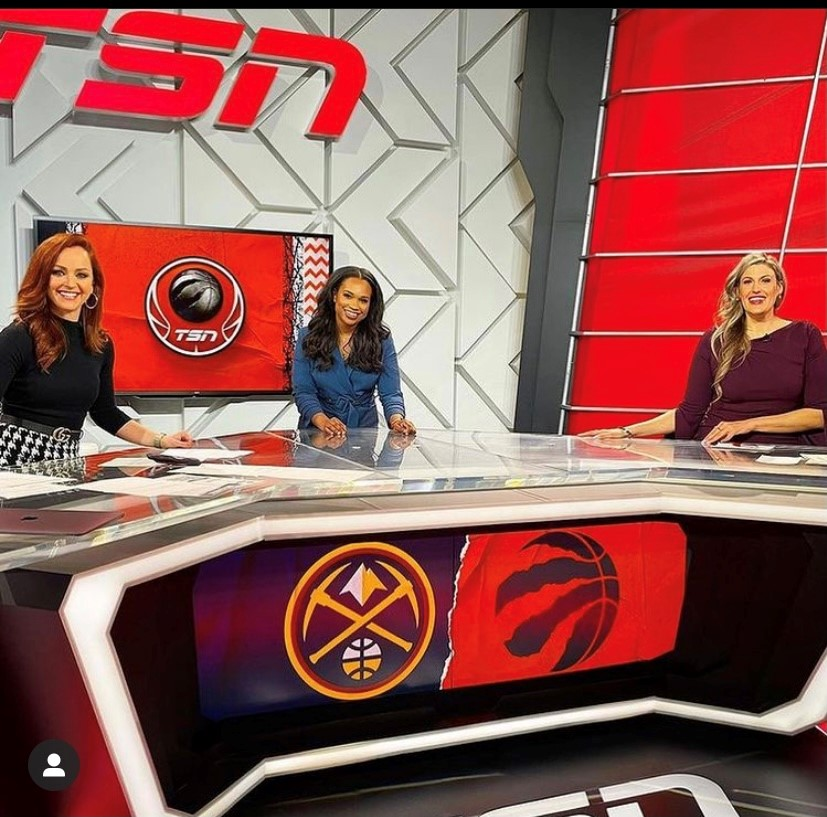 Raptors All Women Broadcasters