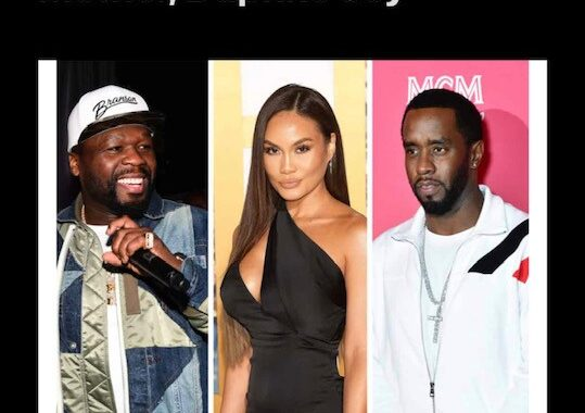 50 Cent Reacts To Rumors Diddy's Dating His Son's Mother, Daphne Joy