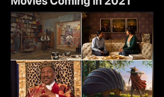 The Most Anticipated Movies Coming in 2021