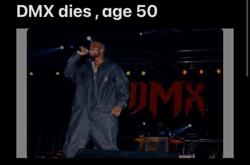 DMX Dies