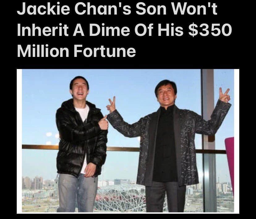 No Money For JackieChan Sonny