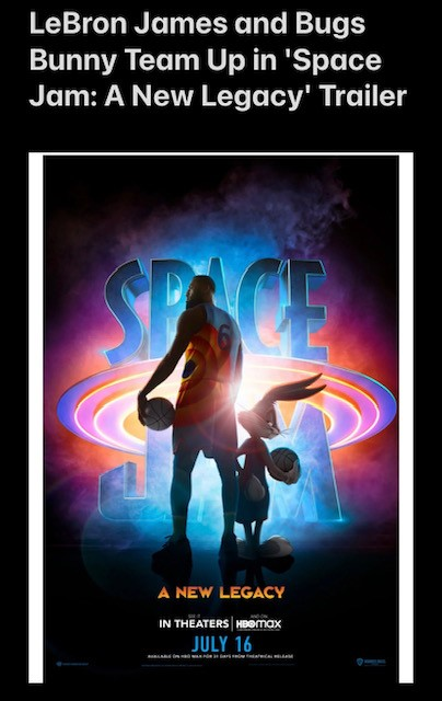 LeBron James & Bugs Bunny Team Up in 'Space Jam: A New Legacy' Trailer