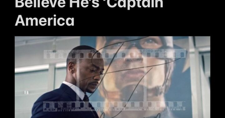Anthony Mackie Still Can't Believe He's 'Captain America