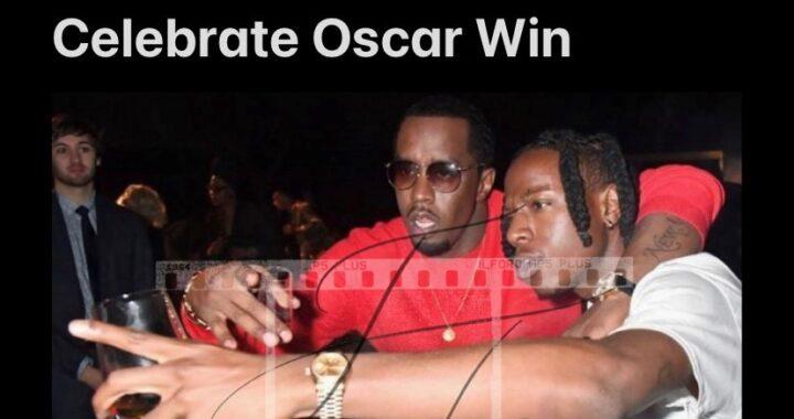 Joey Bada$$ & Diddy Celebrate Oscar Win