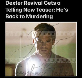 Dexter Revival Gets a Telling New Teaser: He's Back to Murdering