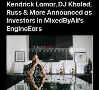 Investors in MixedByAli's EngineEars
