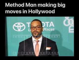 Method Man making big moves in Hollywood