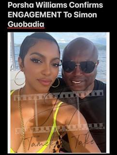 Porsha Williams Confirms ENGAGEMENT To Simon Guobadia