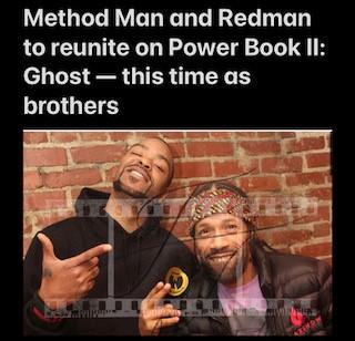 Method Man & Redman to reunite on Power Book II: Ghost